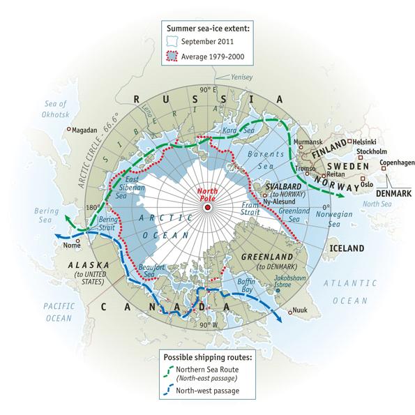 Északi-sarkvidék olvadása