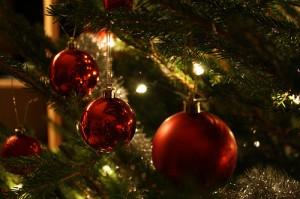 karácsonyfa égőkkel