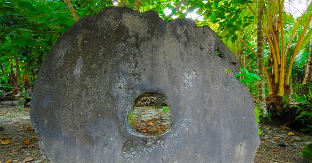 Mikronéziában fizetőeszközként szerepel a Rai kő