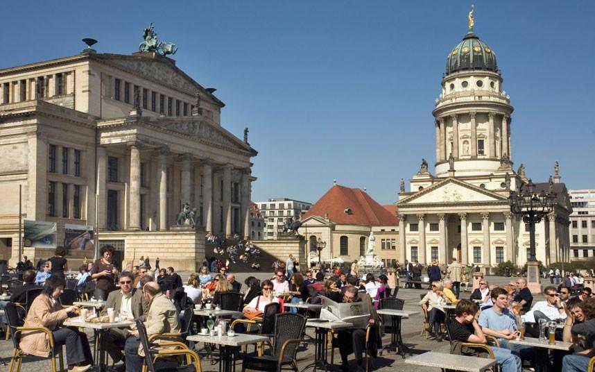Német épület képe