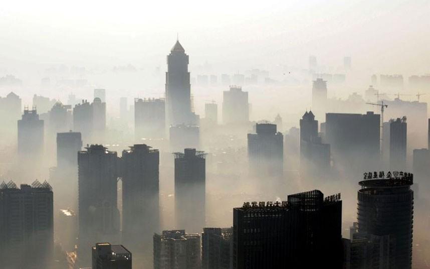 Kínai, ködbe vesző város