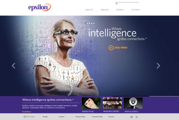 Epsilon vállalat reklám
