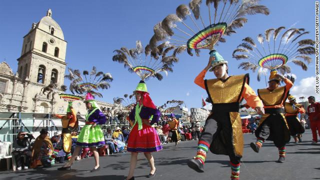 Fesztivál Bolíviában